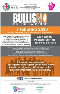 BullisNO - Chi bulla perde - Milano