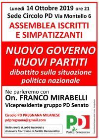 Nuovo Governo, nuovi partiti - Pregnana Milanese