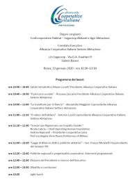 Assemblea dell'Alleanza delle Cooperative Italiane Settore Abitazione - Roma
