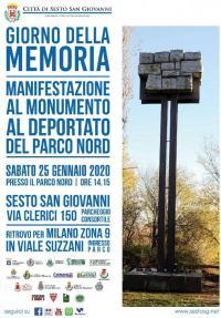 Giornata della Memoria al Parco Nord