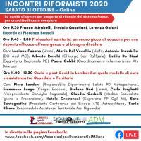 Incontri Riformisti 2020 - Online edition